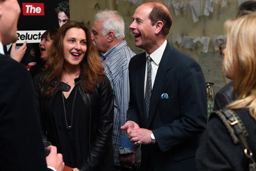Prince Edward The Earl of Wessex Attends a Performance at National Youth Theatre