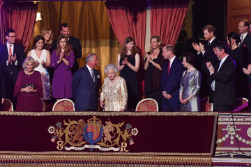 Prince Edward Prince Charles The Queen's Birthday Party