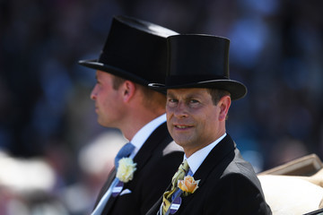 Prince Edward Royal Ascot 2017: Day One