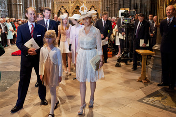 Prince Edward Arrivals at the 60th Anniversary Coronation Service — Part 9