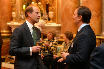 Prince Edward The Queen Elizabeth II Diamond Jubilee Trust in London