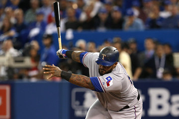 Prince Fielder Division Series - Texas Rangers v Toronto Blue Jays - Game Two