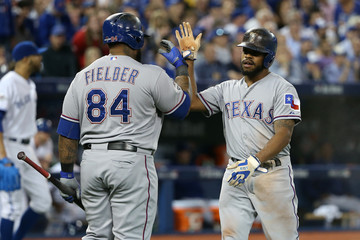 Prince Fielder Division Series - Texas Rangers v Toronto Blue Jays - Game One