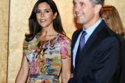 """Prince Frederik of Denmark and Princess Mary of Denmark arrive the opening of """"State of Green - Join the Future - Think Denmark"""" at the Hotel Sofitel Wentworth on November 21, 2011 in Sydney, Australia. Princess Mary and Prince Frederik are on their first official visit to Australia since 2008. The Royal visit begins in Sydney, before heading to Melbourne, Canberra and Broken Hill."""