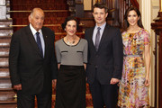 (L-R) Sir Nicholas Shehadie, The Governor of NSW Marie Bashir, Prince Frederik of Denmark and Princess Mary of Denmark pose at Government House  during their visit to Australia on November 21, 2011 in Sydney, Australia. Princess Mary and Prince Frederik are on their first official visit to Australia since 2008. The Royal visit begins in Sydney, before heading to Melbourne, Canberra and Broken Hill.