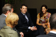 Rosemary O'Farrell and NSW Premier Barry O'Farrell speak with Prince Frederik of Denmark and Princess Mary of Denmark after they arrive at the Hotel Sofitel Wentworth during their visit to Australia on November 21, 2011 in Sydney, Australia. Princess Mary and Prince Frederik are on their first official visit to Australia since 2008. The Royal visit begins in Sydney, before heading to Melbourne, Canberra and Broken Hill.