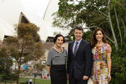 The Governor of NSW Marie Bashir, Prince Frederik of Denmark and Princess Mary of Denmark pose in front of the Sydney Opera House during their visit to Australia on November 21, 2011 in Sydney, Australia. Princess Mary and Prince Frederik are on their first official visit to Australia since 2008. The Royal visit begins in Sydney, before heading to Melbourne, Canberra and Broken Hill.