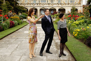 The Governor of NSW Marie Bashir, Prince Frederik of Denmark and Princess Mary of Denmark walk the gardens of Government House during their visit to Australia on November 21, 2011 in Sydney, Australia. Princess Mary and Prince Frederik are on their first official visit to Australia since 2008. The Royal visit begins in Sydney, before heading to Melbourne, Canberra and Broken Hill.