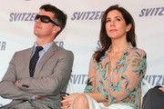 Princess Mary of Denmark and Prince Frederik of Denmark look on as they attend the naming ceremony for the tugboat 'Svitzer Marysville' on November 24, 2011 in Melbourne, Australia. Princess Mary and Prince Frederik are on their first official visit to Australia since 2008. The Royal visit begins in Sydney, before heading to Melbourne, Canberra and Broken Hill.