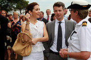 Prince Frederick of Denmark and Princess Mary of Denmark attend a BBQ with special guests at Garden Island on November 20, 2011 in Sydney, Australia. Princess Mary and Prince Frederik are on their first official visit to Australia since 2008. The Royal visit begins in Sydney, before heading to Melbourne, Canberra and Broken Hill.