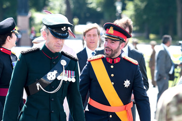 Prince Guillaume of Luxembourg The Sovereign's Parade At Sandhurst