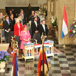 Prince Guillome Luxembourg Celebrates National Day