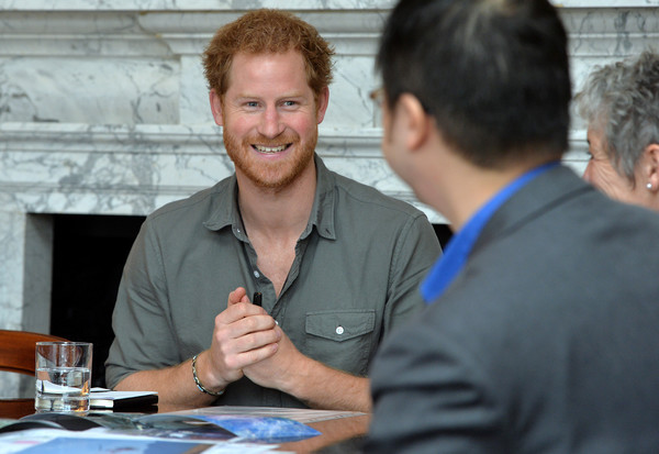 Prince Harry Attends MapAction Briefing Ahead of Nepal Tour