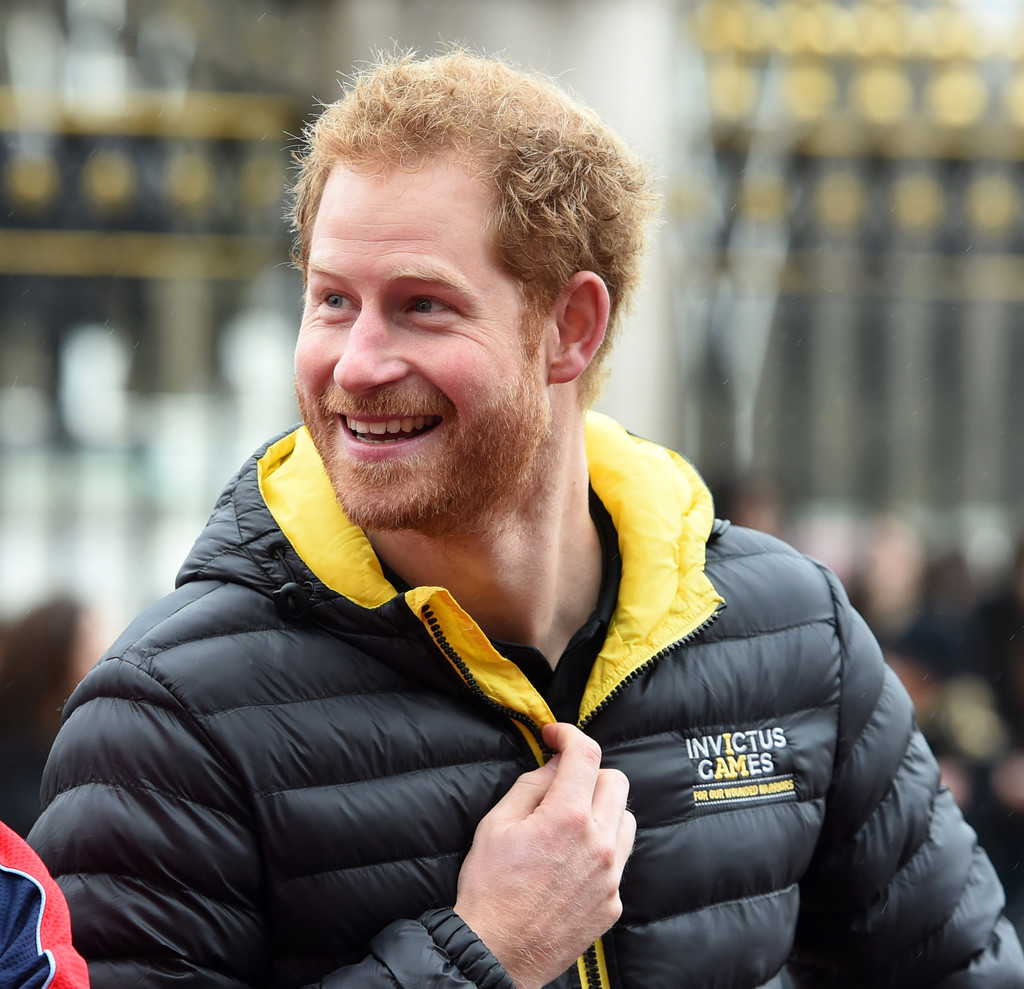 Prince Harry Attends Unveiling Of The UK Invictus Games