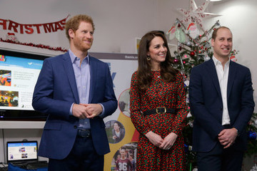 Prince Harry The Duke And Duchess Of Cambridge & Prince Harry Attend The Mix Christmas Party