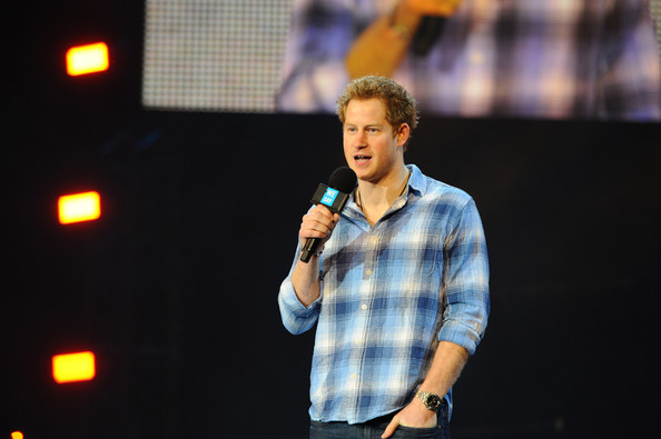 Prince Harry Prince Harry attends as Free The Children hosts debut UK global youth empowerment event, We Day at Wembley Arena on March 7, 2014 in London, England.