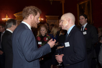 Prince Harry Prince Harry Attends the Endeavour Fund Reception