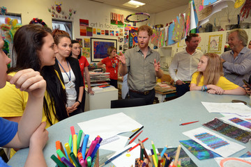 Prince Harry Prince Harry Visits The Blair Project