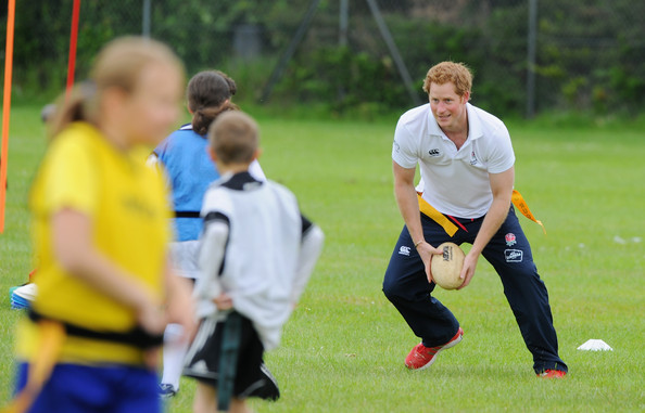 Prince Harry Prince Harry takes part in an activity session at Inspire Suffolk during an official visit to Suffolk on May 29, 2014 in Ipswich, England.