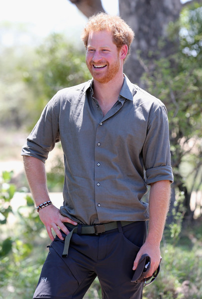 Prince Harry Visits Africa - Day 5