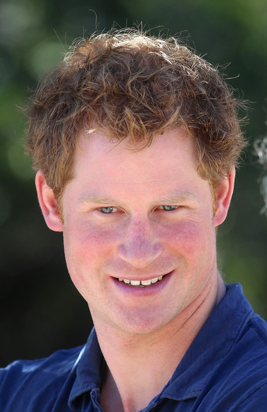 Prince Harry visits an outdoor centre on June 29, 2014 in Antaeaya, Chile. Prince Harry is on the final day of a three day tour of Chile after visiting Brazil.