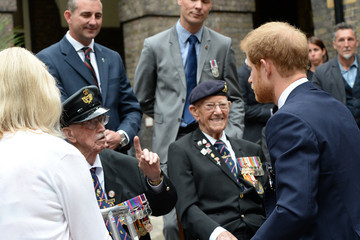 Prince Harry Prince Harry Hosts a Reception for Veterans Ahead of the 'Dunkirk' World Premiere