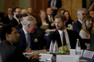 Prince Harry The Prince of Wales Attends 'International Year of the Reef' 2018 Meeting