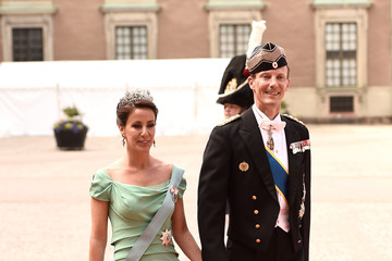 Prince Joachim Of Denmark Ceremony And Arrivals: Wedding of Prince Carl Philip of Sweden and Sofia Hellqvist