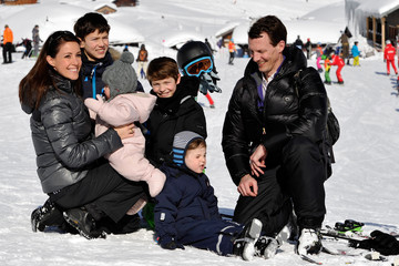 Prince Joachim Of Denmark Danish Royals On Ski Holiday In Villars