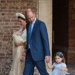 Prince Louis Christening Of Prince Louis Of Cambridge At St James's Palace