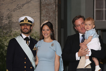 Prince Nicolas of Sweden Christening of Prince Oscar of Sweden