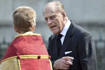 Prince Philip Service Of Thanksgiving For Lord Snowden