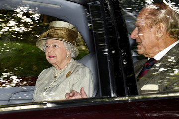 Prince Philip Theresa May Visits the Queen at Balmoral Castle