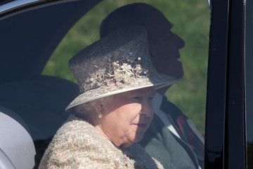 Prince Philip Royal Family Attend Service at Crathie Church