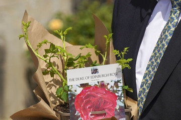 Prince Philip The Queen Receives A Rose Named In Memory Of The Duke Of Edinburgh