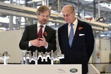 Prince Philip New Jaguar Land Rover Plant Opened