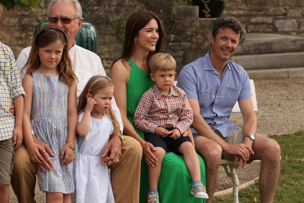 Prince vincent of denmark photos photos danish royal family danish royal family gathers in luzech sciox Image collections