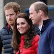 Prince The Duke & Duchess of Cambridge and Prince Harry Join Team Heads Together at a London Marathon Training Day