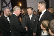 Robbie Williams and Olly Murs Photos Photo