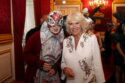Vivienne Westwood and Camilla, Duchess of Cornwall attend a reception hosted by the Duchess and Prince Charles, Prince of Wales for the Elephant Family Animal Ball at Clarence House on June 13, 2019 in London, England. Elephant Family is an international NGO dedicated to protecting the Asian elephant from extinction in the wild.