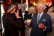 Prince Charles, Prince of Wales (R) and Camilla, Duchess of Cornwall (C) host a reception for the Elephant Family Animal Ball at Clarence House on June 13, 2019 in London, England. Elephant Family is an international NGO dedicated to protecting the Asian elephant from extinction in the wild.
