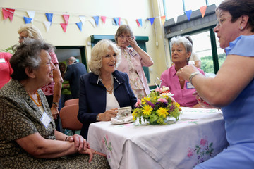Duchess of Conrnwall Prince Of Wales And Duchess Of Cornwall Visit The Channel Islands - Day One
