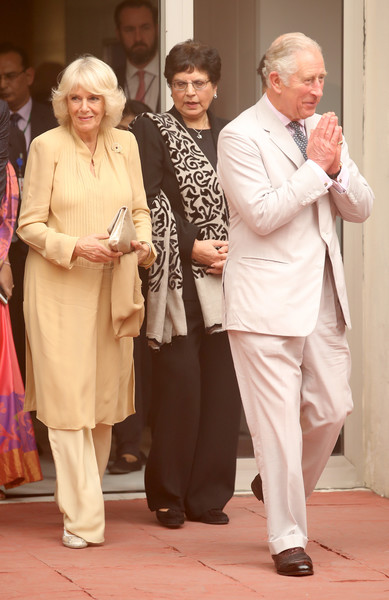 The Prince of Wales & Duchess of Cornwall Visit Singapore, Malaysia, Brunei and India - Day 9