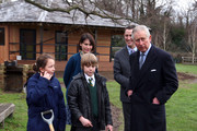 The Prince of Wales Visits Ashley Primary School