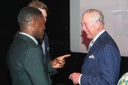 Prince Charles, Prince of Wales (R) and David Oyelowo OBE (L) during an official visit to BFI Southbank on December 06, 2018 in London, England.  The Prince of Wales has been Patron of the British Film Institute for 40 years.
