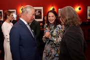 Prince Charles, Prince of Wales with Ruth Wilson and Stephen Woolley during an official visit to BFI Southbank on December 06, 2018 in London, England.  The Prince of Wales has been Patron of the British Film Institute for 40 years.