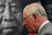 Prince Charles, Prince of Wales meets staff during a vist to the Pirelli tyre factory on April 8, 2019 in Carlisle, England. The Prince paid a visit to the factory to help staff celebrate fifty years of tyre making in Carlisle.