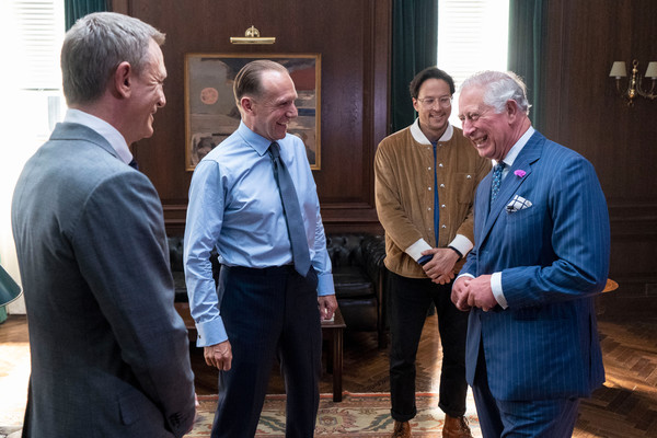 The Prince Of Wales Visits The James Bond Set