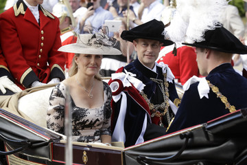 Prince William Countess of Wessex Order Of The Garter Service
