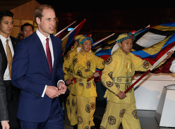 Prince William Prince William, Duke of Cambridge arrives at the GREAT Festival of Creativity at the Long Museum on March 2, 2015 in Shanghai, China. Prince William, Duke of Cambridge is on a four day visit to China. He is the most senior royal to visit China since the Queen and Duke of Edinburgh in 1986. His visit follows on from a successful four day visit to Japan